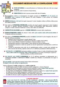 Isee elenco dei documenti c s c caf cgil modena for 730 documenti