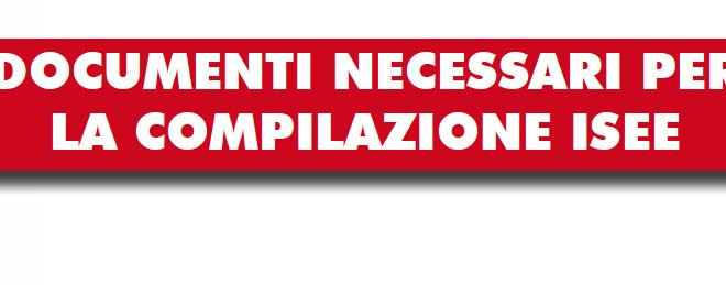 I documenti necessari per isee 2015 c s c caf cgil modena for Documenti per 730