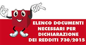 Elenco Documenti necessari per 730 precompilato