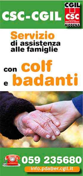 Servizio di assistenza famiglie con colf e badanti