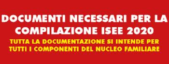 Elenco Documenti ISEE 2020 Servizio Gratuito