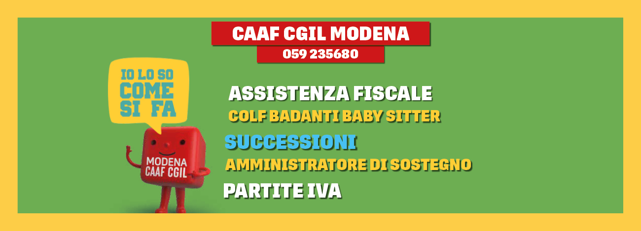 C.S.C - CAF CGIL Modena