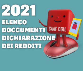 Elenco documenti dichiarazione redditi 2021